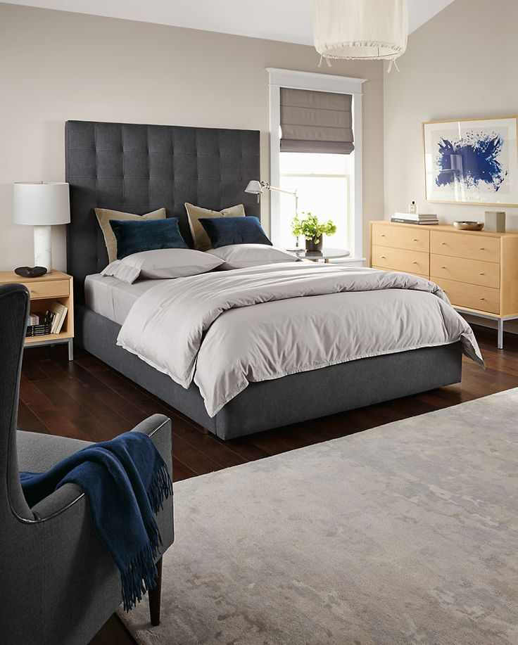 best images about modern beds on, Headboard designs