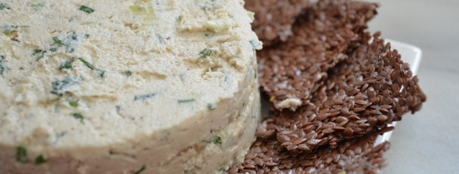 herbed cashew cheese spread. | Eat | Pinterest