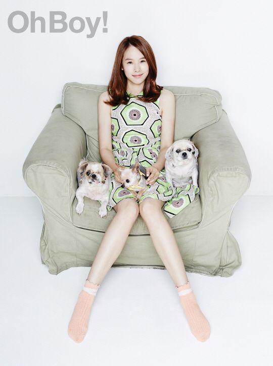 Jo Yoon Hee - Oh Boy! Magazine
