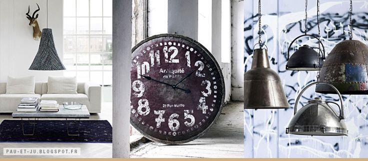 LE STYLE DANOIS DE NORDAL. Joyeux mélange de scandinave, de tendances indiennes, de matériaux bruts et de patines. + d'infos sur http://pau-et-ju.blogspot.fr/