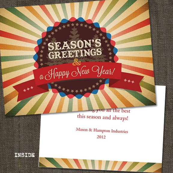 53 best holiday card inspiration images on pinterest business corporate circus printed holiday cards from partymonkey company christmas cardscorporate christmas cardsbusiness holiday cardspersonalized reheart Choice Image