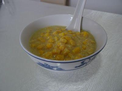 Κινέζικη σούπα με καλαμπόκι