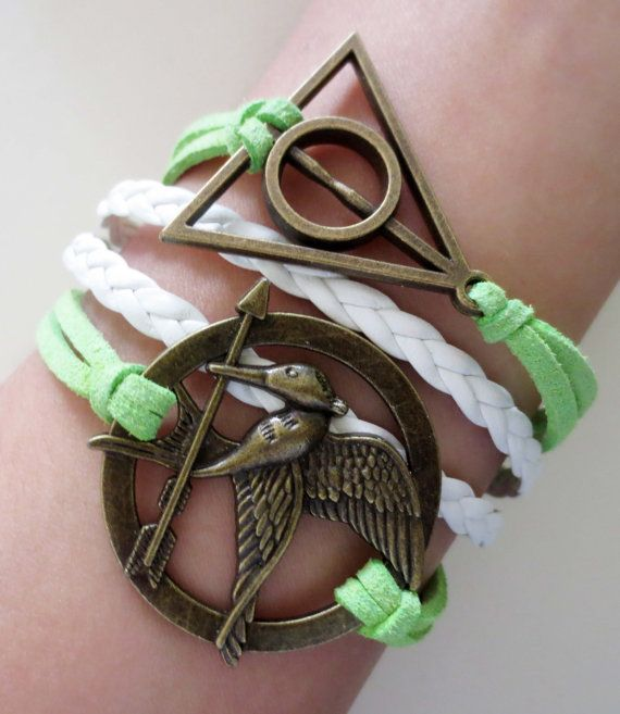 Hunger games and Harry Potter!! Yesss
