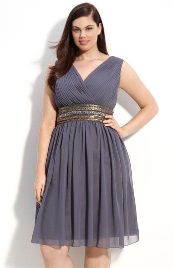 Fashionista: Plus Size Party Dress Vestido de fiesta gordita