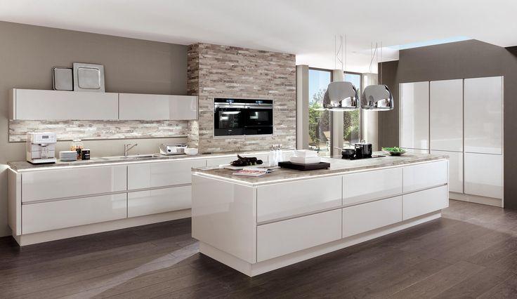 küche hochglanz weiß norina 9555