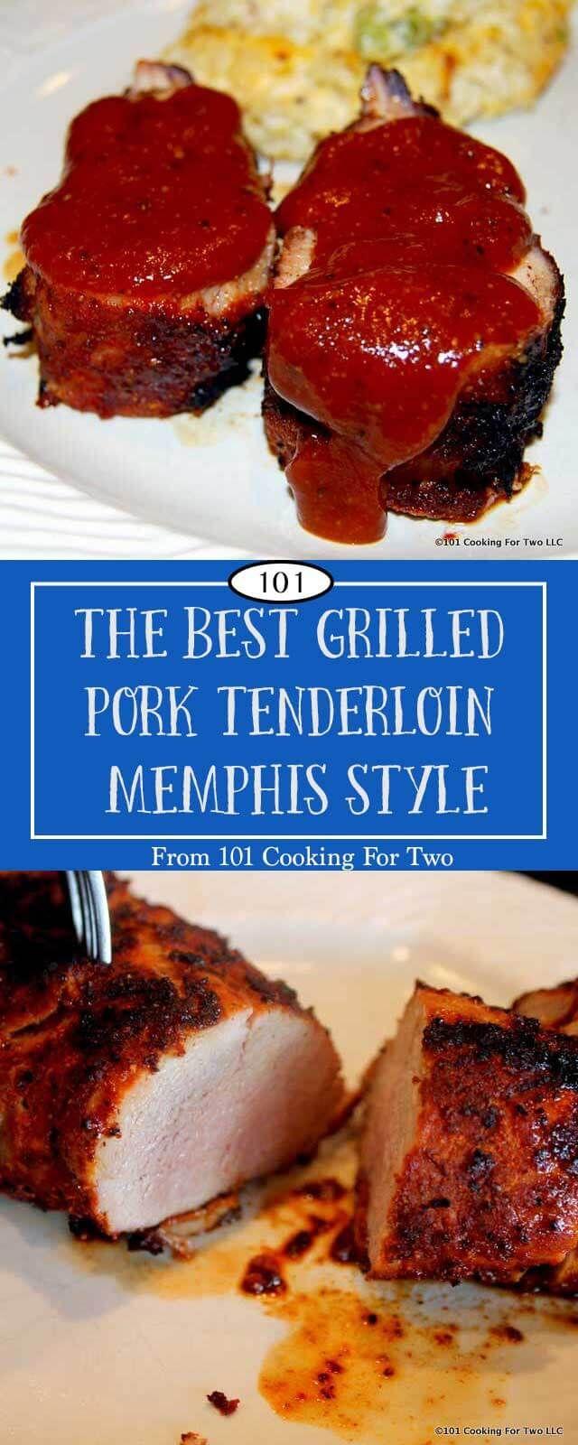 BBQ pork tenderloin at its absolute best. This is the best grill pork tenderloin… period.  Moist, tender and the most wonderful spicy taste.