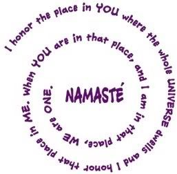 Namaste photo: symbol of One plus One equals One This photo was uploaded by Loupdemer1