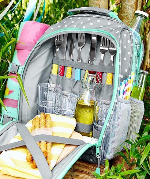 soğutucu bölmeli piknik sırt çantası