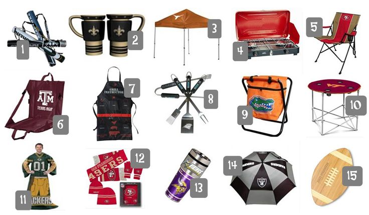 Upgrade your Game Day with 15 football tailgating gear ideas to rock your party.