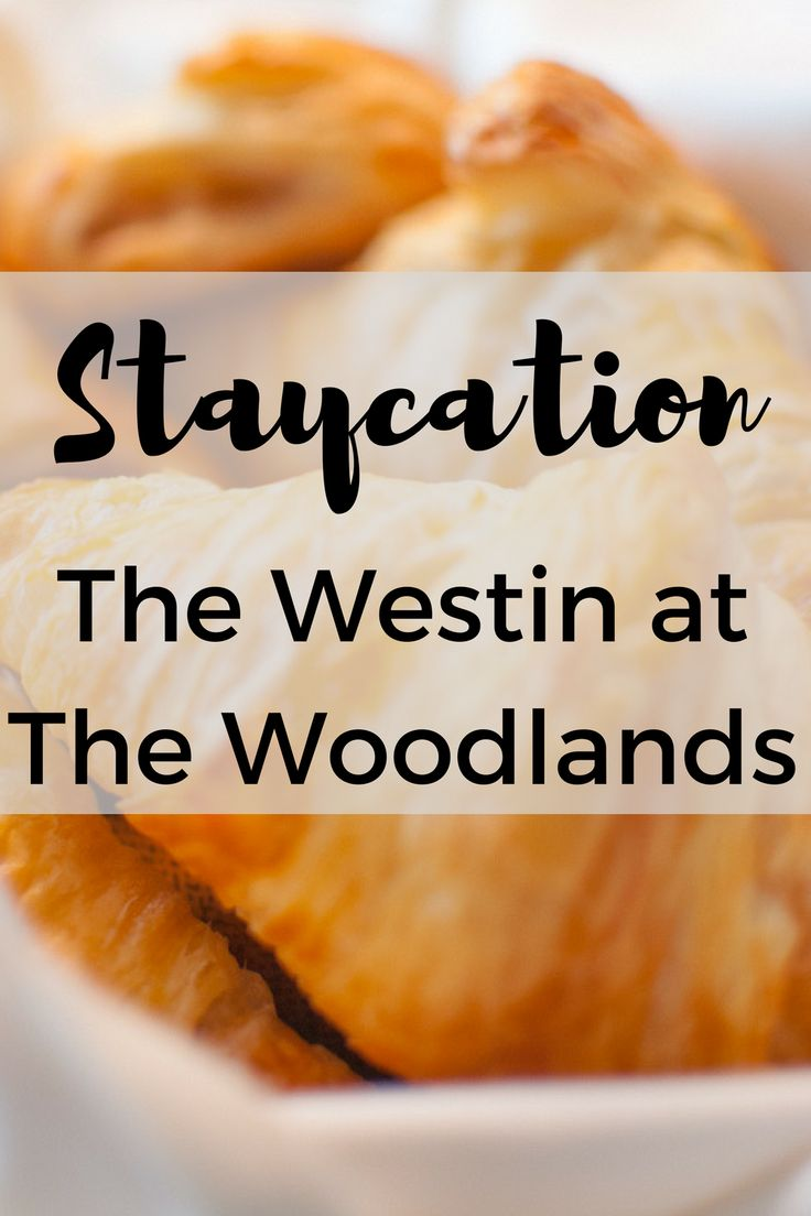 Have you ever thought about taking a staycation in The Woodlands? I'm sharing all about my stay.
