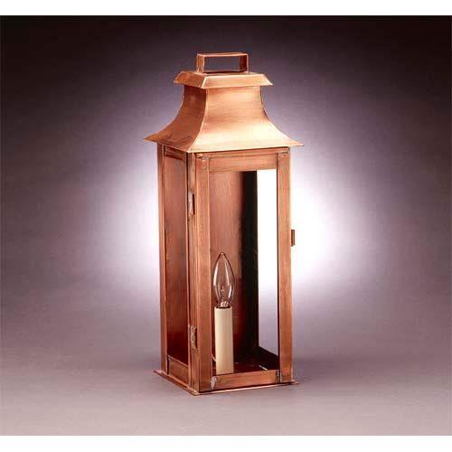 Northeast Lantern Medium Antique Copper Clear Concord Outdoor Wall Lantern.  Outdoor Wall LightingOutdoor ...