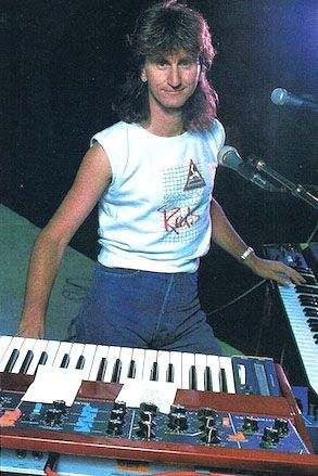 Geddy Lee Of Rush - Keyboard Magazine - September 1984 - courtesy of Cygnus-X1.Net