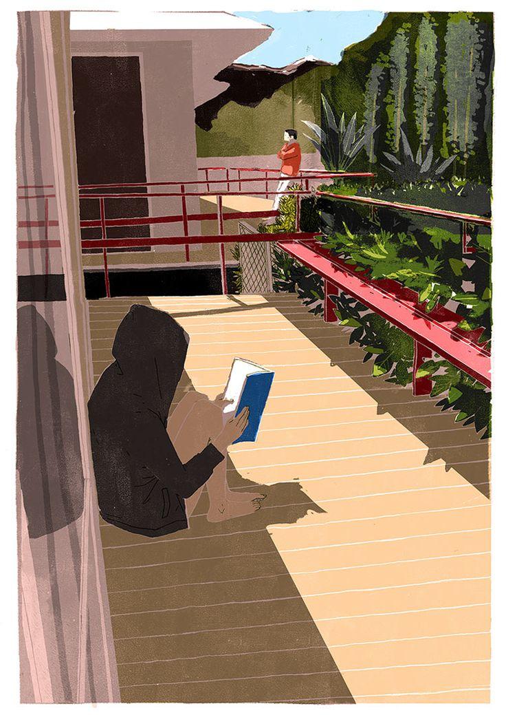 """""""Не может быть, чтобы чтение психологических книг с целью улучшить отношения начисто разрушило эти отношения!"""" (Хелен Филдинг. Бриджит Джонс: грани разумного).  #книги #чтение #book #books #reading #искусство #art  #иллюстрация #illustration #отношения #психология #цитаты #цитата #мысли #readingcomua"""