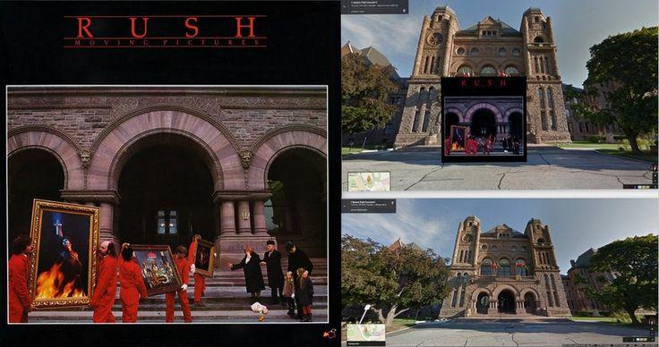 """Rush – """"Moving Pictures"""" Albümü / KLASİKLEŞMİŞ 12 ALBÜM KAPAĞI NEREDE ÇEKİLDİ?"""