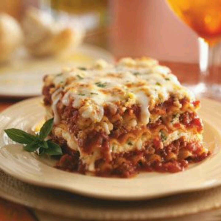 Italian Turkey Sausage Lasagna by Taste of Home