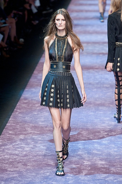 Paco Rabanne SS2013 | http://www.fabulousmuses.com/2012/10/absolutely-fabulous-by-d-paco-rabanne.html