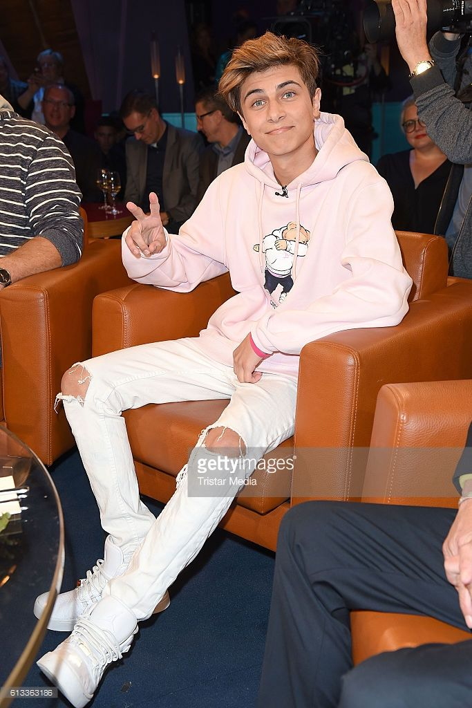Lukas Rieger during the 'NDR Talk Show' Photocall on October 7, 2016 in Hamburg, Germany.