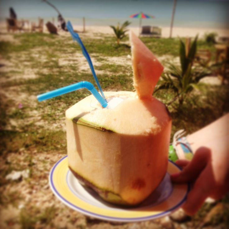 cocnut smoothy in Thailand