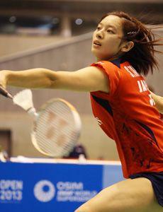 スポーツバドミントン選手の高橋沙也加選手!