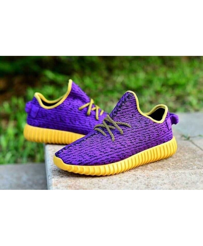 846910f2db991c Adidas Yeezy 350 Boost Purple Yellow Trainers Sale UK