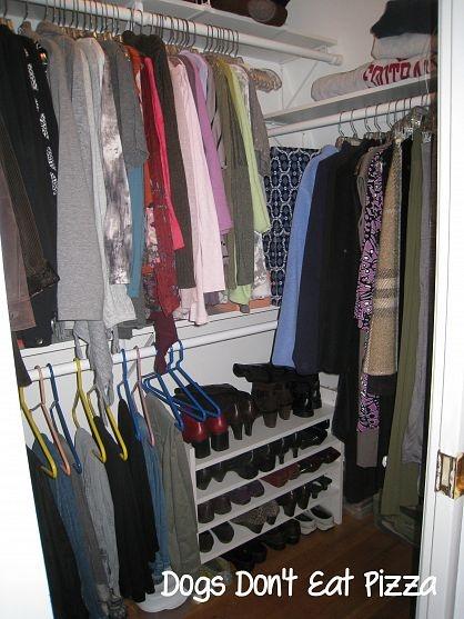 An Organized Closet - Step by Step