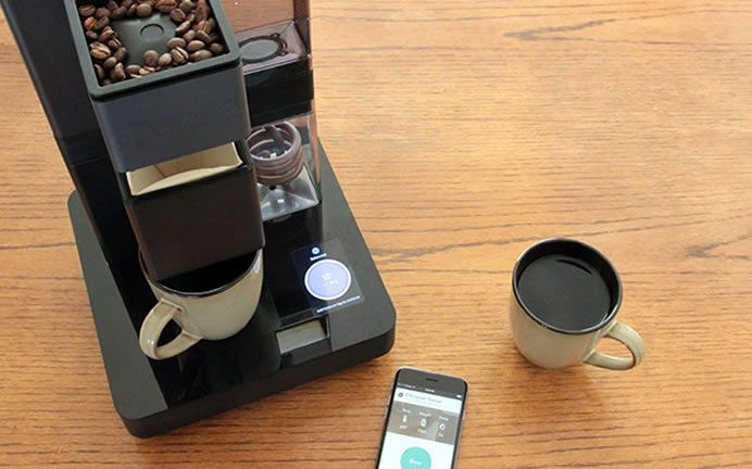 Bruvelo Smart, WiFi-Connected Pour-Over Coffee Brewer