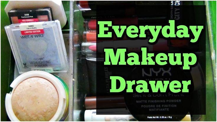 My Cruelty Free Everyday Makeup Drawer | November 2017 | MissAmyxo
