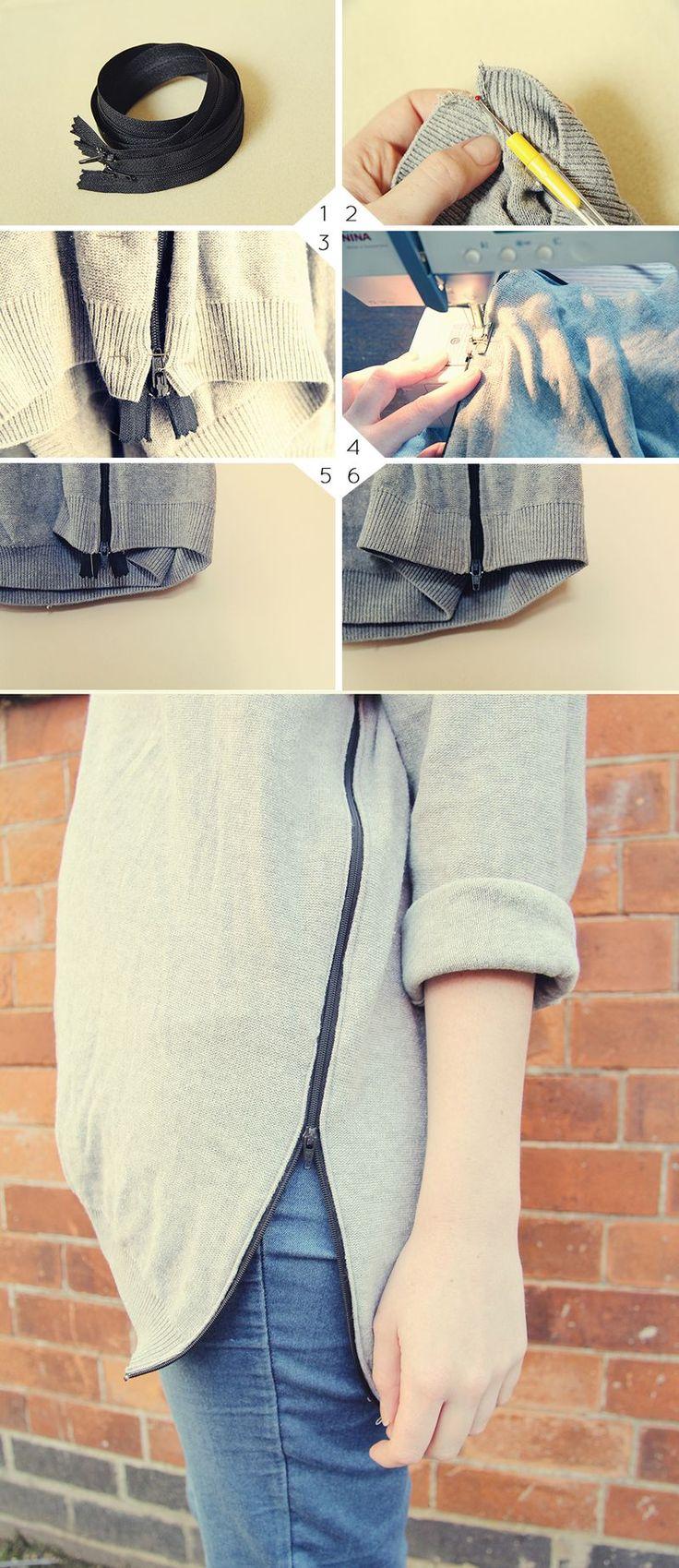 pinterest | spiker11 | zip jumper tutorial