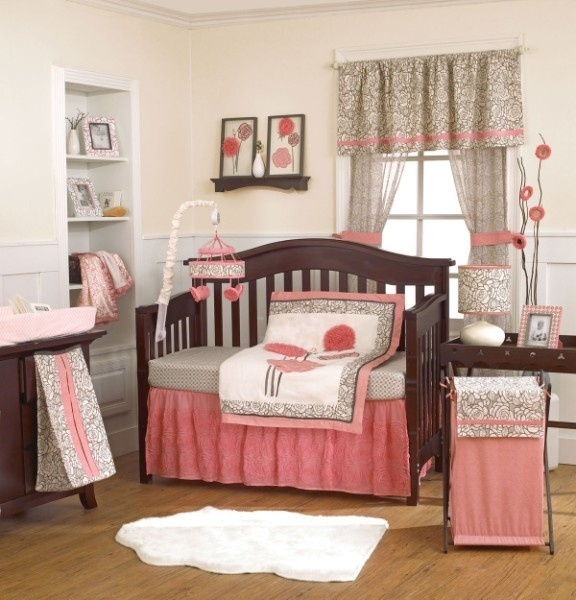 Soft And Elegant Gray And Pink Nursery: 154 Best Images About Pink And Grey Nursery On Pinterest