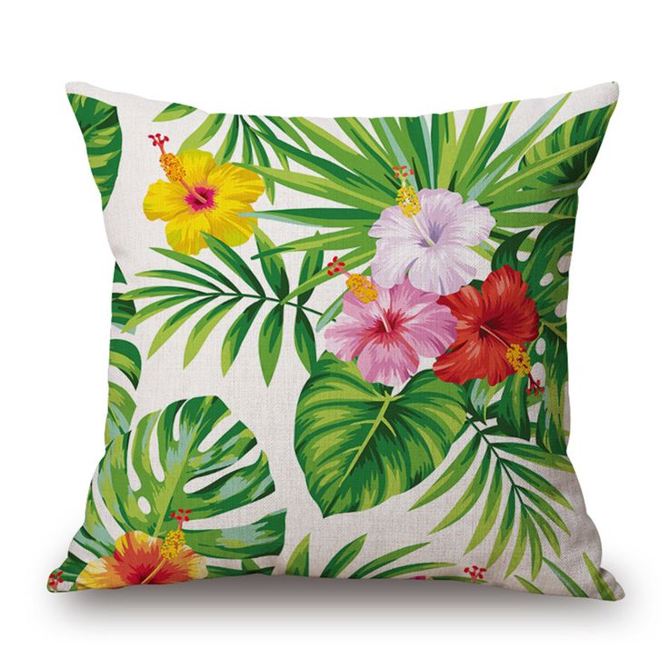 retro flowers square cushion cover decorative sofa throw pillows cover car-styling euro pillow cover home decor bed cushions #Affiliate