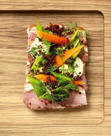 Lammecullotte: smørrebrød fra Aamanns Deli og Takeaway