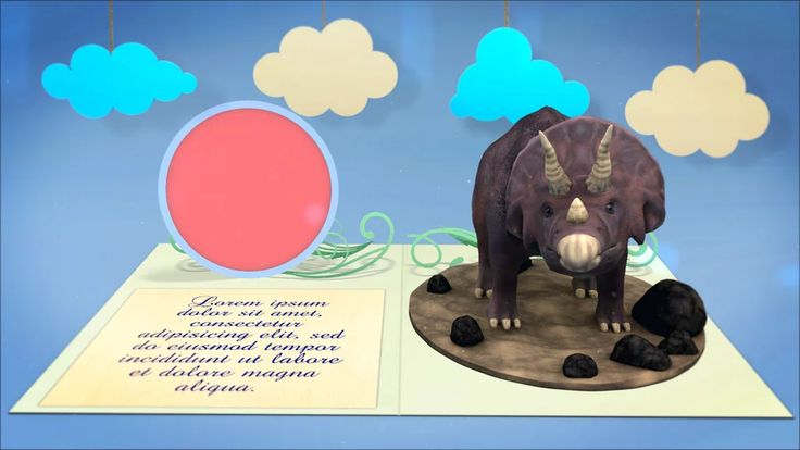 Card Triceratops on Vimeo