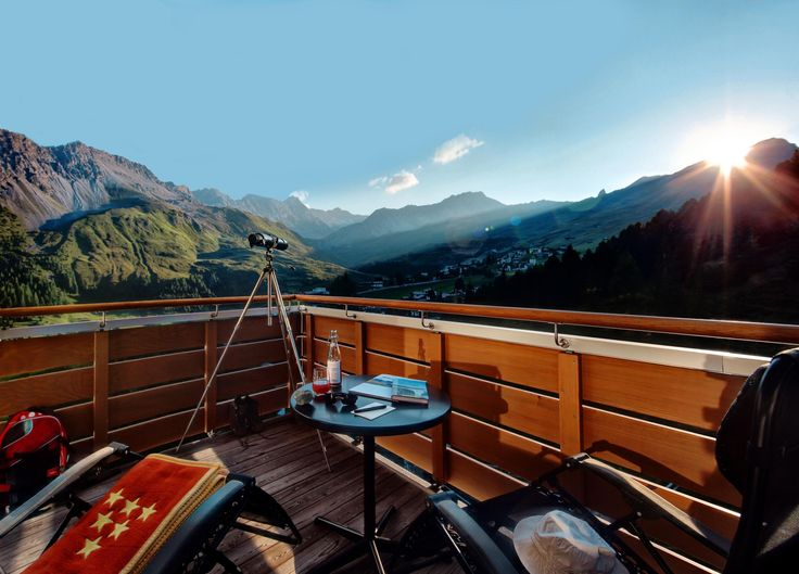 Room with a view of the beautiful Arosa valley - Tschuggen Grand Hotel #Switzerland
