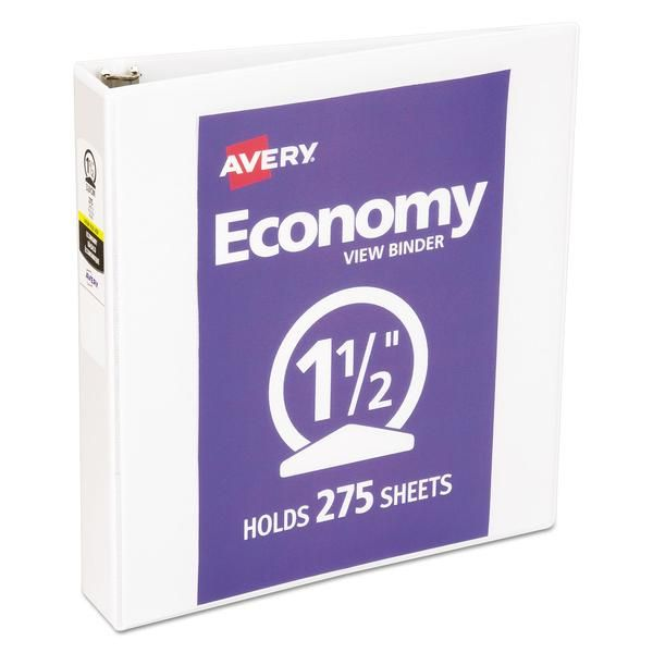 Perfect For Light Use This Slim Binder Is A Convenient And Lightweight Solution Textured Clear Cover Hides Surface Damag In 2020 Vinyl Paper Binder Paper Organization