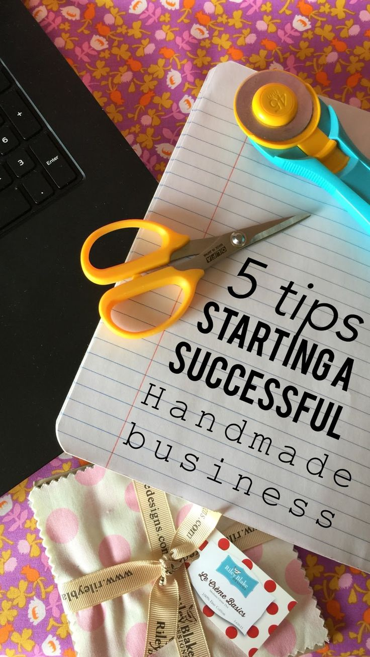 5 Easy Steps to a Successful Handmade Business