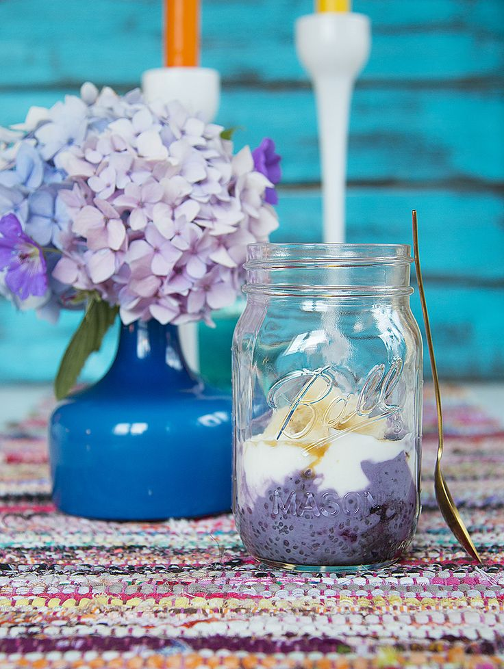 Blueberry Chia Seed Pudding - Easy, healthy and delicious!