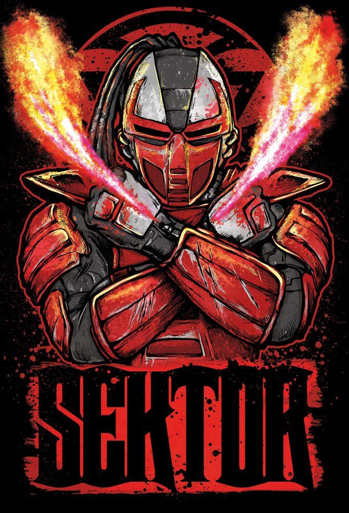 Sektor - Mortal Kombat - Gleb Sinyutkin