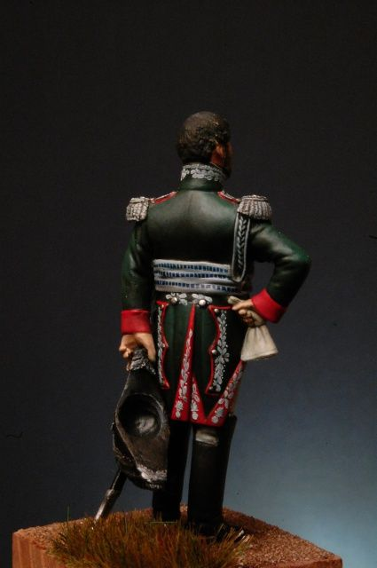 Gen Teodoro Lechi, Commander of the Italian Royal Guard  - by Ivo Preda
