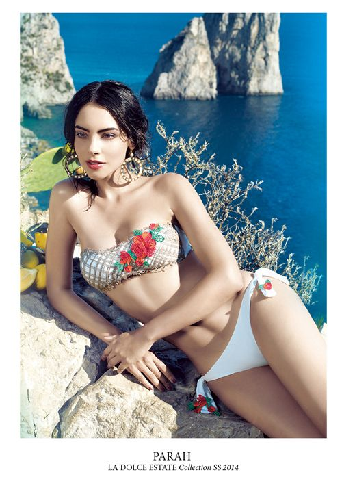 #parah #beach #collection #spring #summer #2014 #fashion #style #swimsuit #beachwear #sun #sea #colour #details #capri #italy #woma #girl #beautiful #dresscode #outfit #style