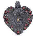 Orologio da scrivania Angelo Gotico a forma di cuore idea regalo donna ragazza