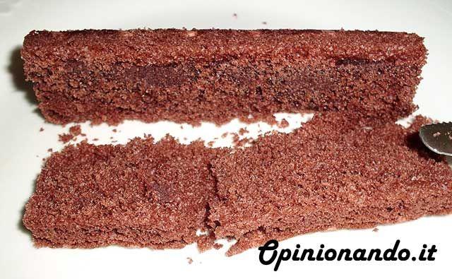 Ferrero Brioss Cacao magro e cereali Brioche tagliata a metà  - #recensione #opinionando