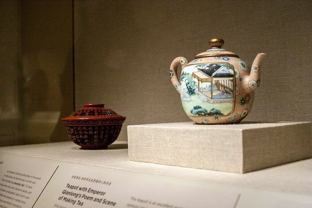 1000 images about tea coffee on pinterest qianlong emperor poem and emperor - Imperial dragon cast iron teapot ...