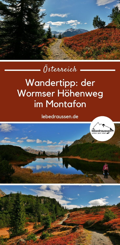 Silvretta Alpen: Wanderung im Montafon im Vorarlberg