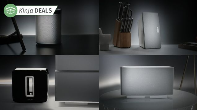 The PLAY:1 Deal Is Over, But the Rest of the SONOS Line Just Went On Sale