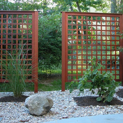 Wood Privacy Panels For The Garden O U T D O O R S P A C
