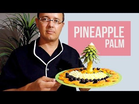 Make a Fruit Center for Your Love - By J.Pereira Art Carving Fruits and Vegetables - YouTube