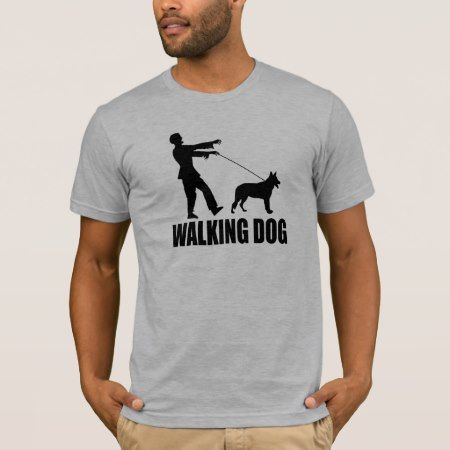 (Zombies) Walking Dog T-Shirt - tap to personalize and get yours