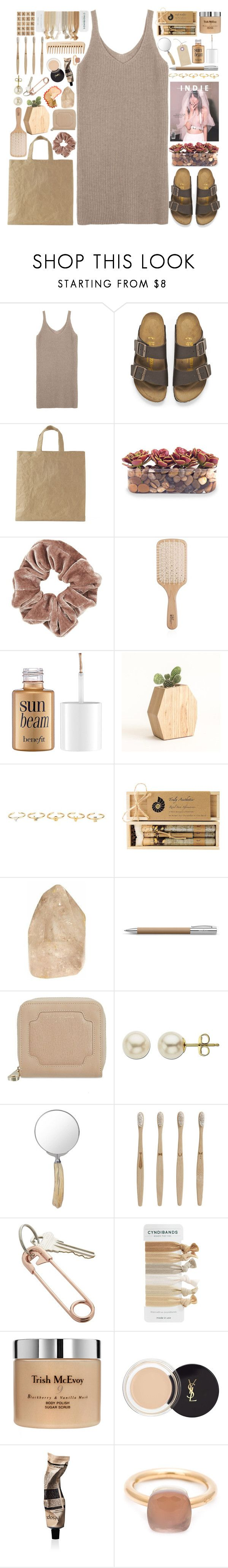 """""""Hands To Myself"""" by annaclaraalvez on Polyvore featuring moda, Birkenstock, John-Richard, Topshop, INDIE HAIR, Philip Kingsley, Benefit, Maria Francesca Pepe, Truly Aesthetic e Faber-Castell"""
