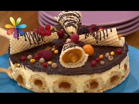 Вафельный торт для праздничного стола от Екатерины Великой! – Все буде добре. Выпуск 927 от 7.12.16 - YouTube