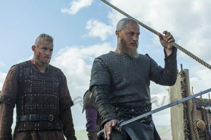 """Vikingos"": Teaser de la esperada segunda parte de la cuarta temporada - Alexander Ludwig, Travis Fimmel"